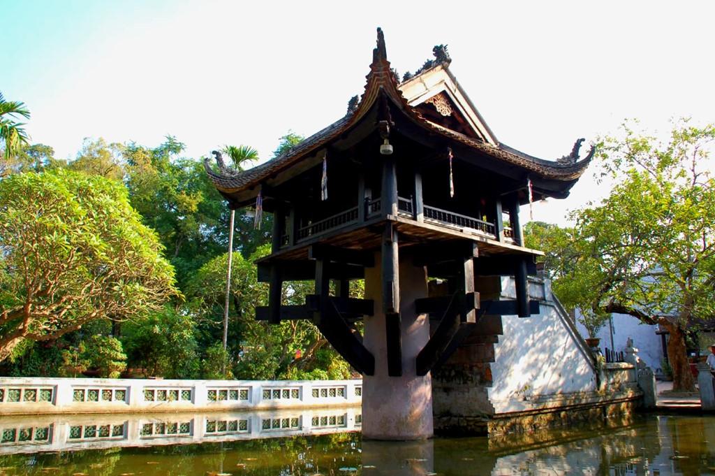 Chùa Một Cột được chọn là một trong những biểu tượng của Hà Nội