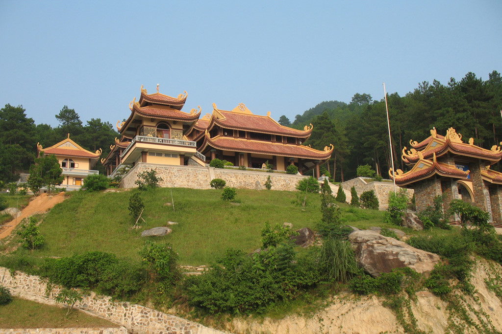 Quần thể kiến trúc của Thiền viện Trúc Lâm