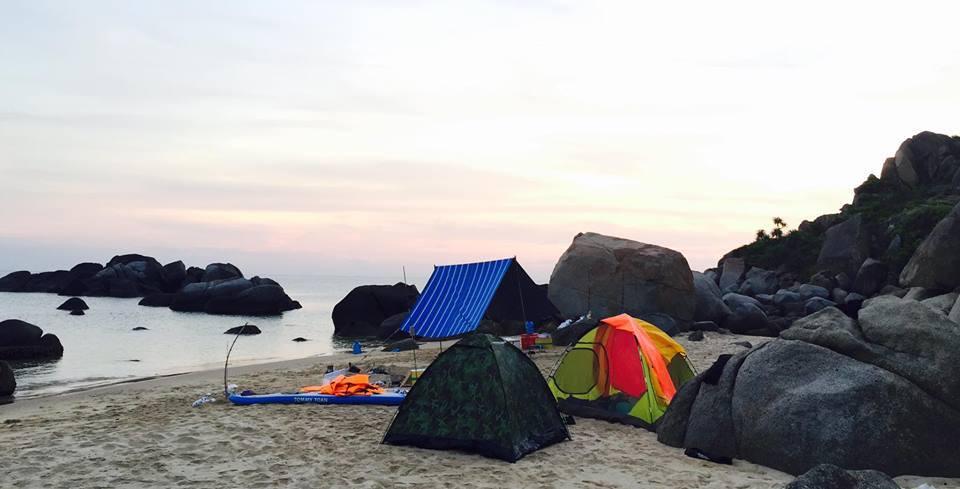 Vũng Bồi - Đề Gi biển đảo Bình Định