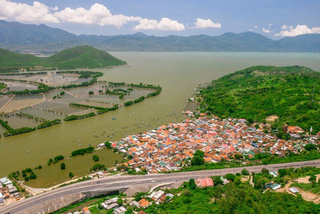 Ngắm Bộ Ảnh Cung đường Khánh Hòa - Phú Yên nhìn từ trên cao
