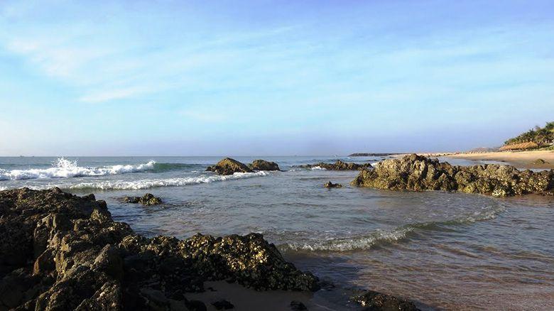 Bãi đá ông địa - địa điểm checkin khi đến Mũi Né.